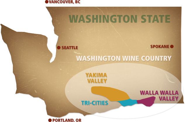 Taste and Tote in Washington Wine Country  Tricities Yakima